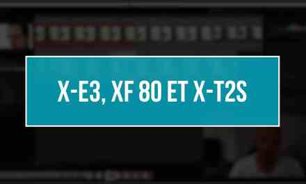 Fujifilm X-E3, XF 80 MACRO et X-T2S