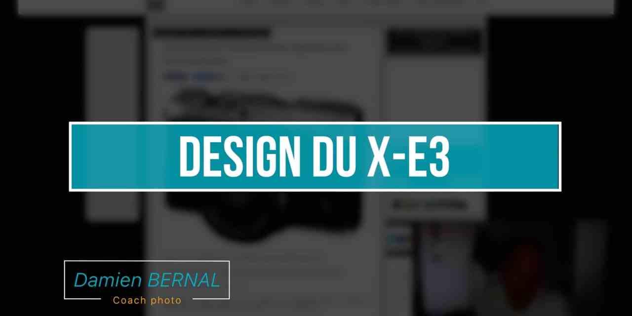 Fujifilm X-E3 : Le design