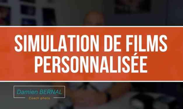 Jeux de réglages personnalisés (REGL PERSO) sur Fuji X