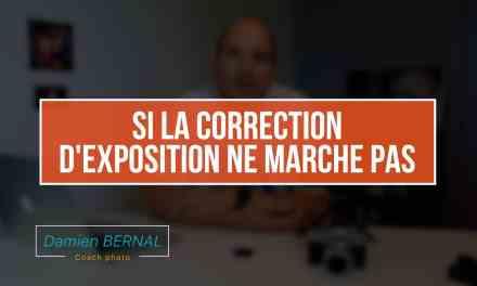 Problème de correction d'exposition : Marche pas :(