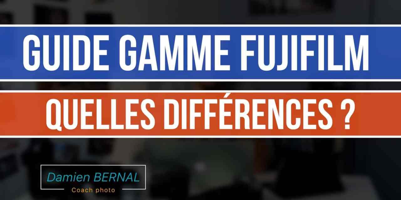 Comparatif appareil photo Fujifilm X : Quelles différences ?