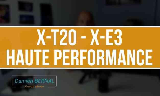 Fujifilm X-T20 et X-E3 : mode Haute performance / BOOST