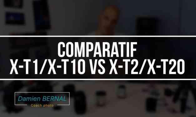 Comparatif Fujifilm X-T1/X-T10 vers X-T2/X-T20 : Est-ce que ça vaut le coup ? Comparatif différence