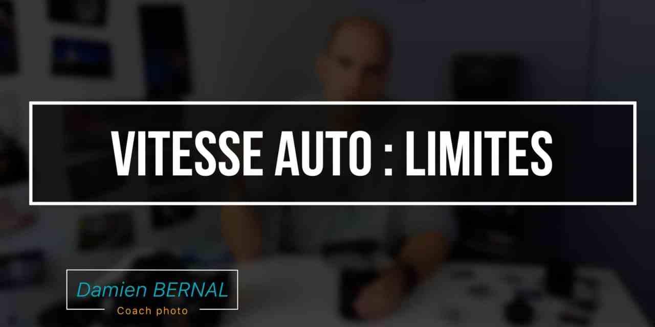 Vitesse AUTO : Limites & usage