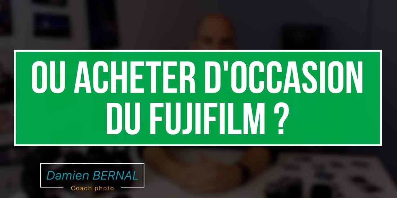 Ou acheter du Fujifilm d'occasion ?