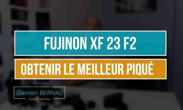 Fujifilm XF23 F2 WR : Analyse des tests pour définir la meilleure ouverture