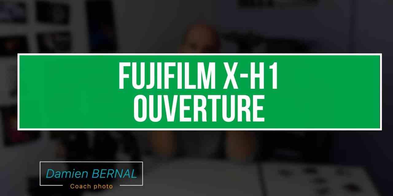 Fujifilm X-H1 – Déballage de l'hybride au capteur stabilisé
