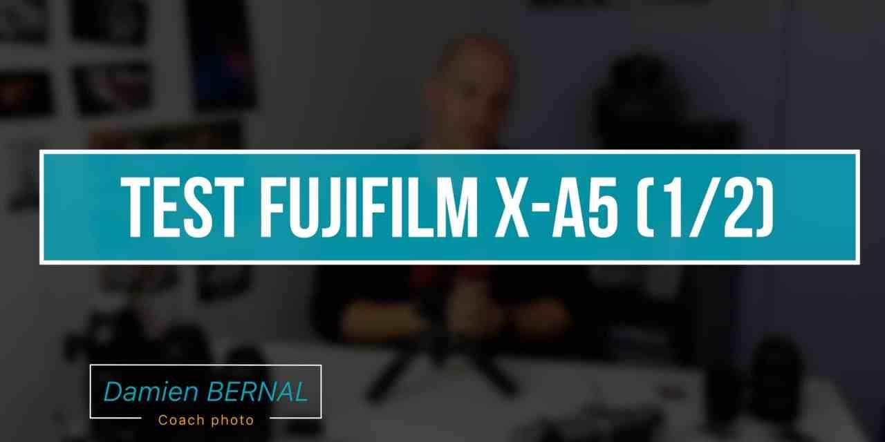 Test Fujifilm X-A5 : le nouvel hybride pas cher