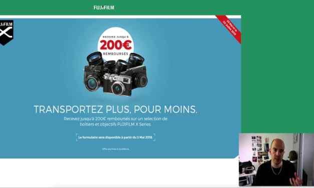 Promotion Fujifilm Printemps 2018