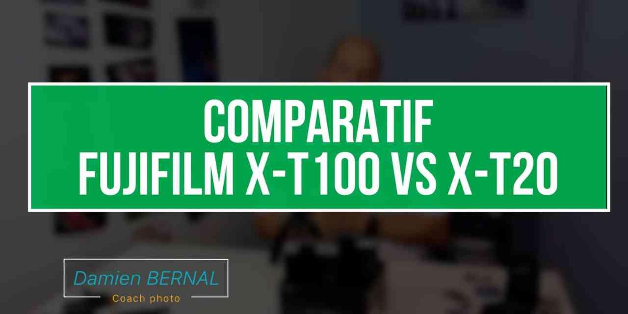 Comparatif Fujifilm X-T100 vs X-T20