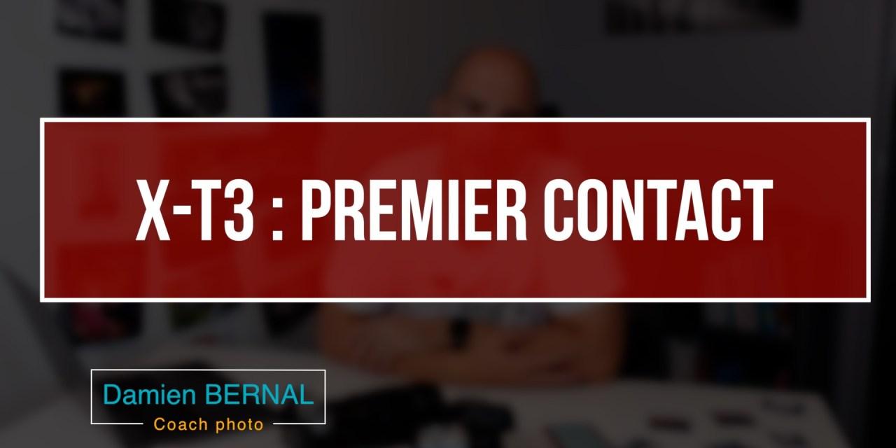 Fujifilm X-T3 : Premier contact