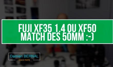 Fujifilm & 50mm : et si on invitait le XF 50mm au débat ?