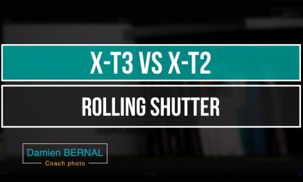 X-T3 vs X-T2 : Rolling shutter – Quelles différences de distorsion ?