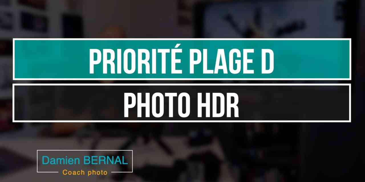 Priorité Plage D : photo HDR ?