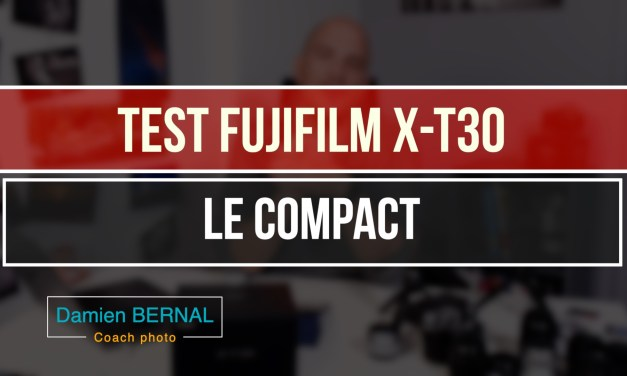 Test fujifilm X-T30 : Compact expert au top