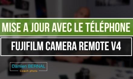 Comment appairer Bluetooth et mettre à jour avec son Smartphone (Version Fujifilm Camera Remote 4)