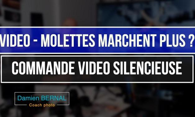 Les molettes ne marchent plus en vidéo ?