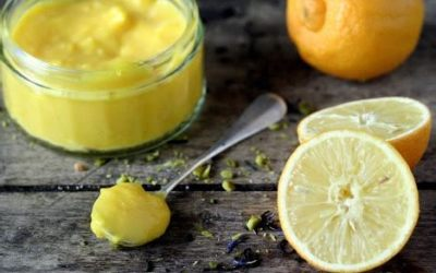 Lemon curd de bergamote