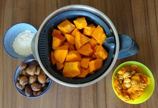 cuisson du potimarron