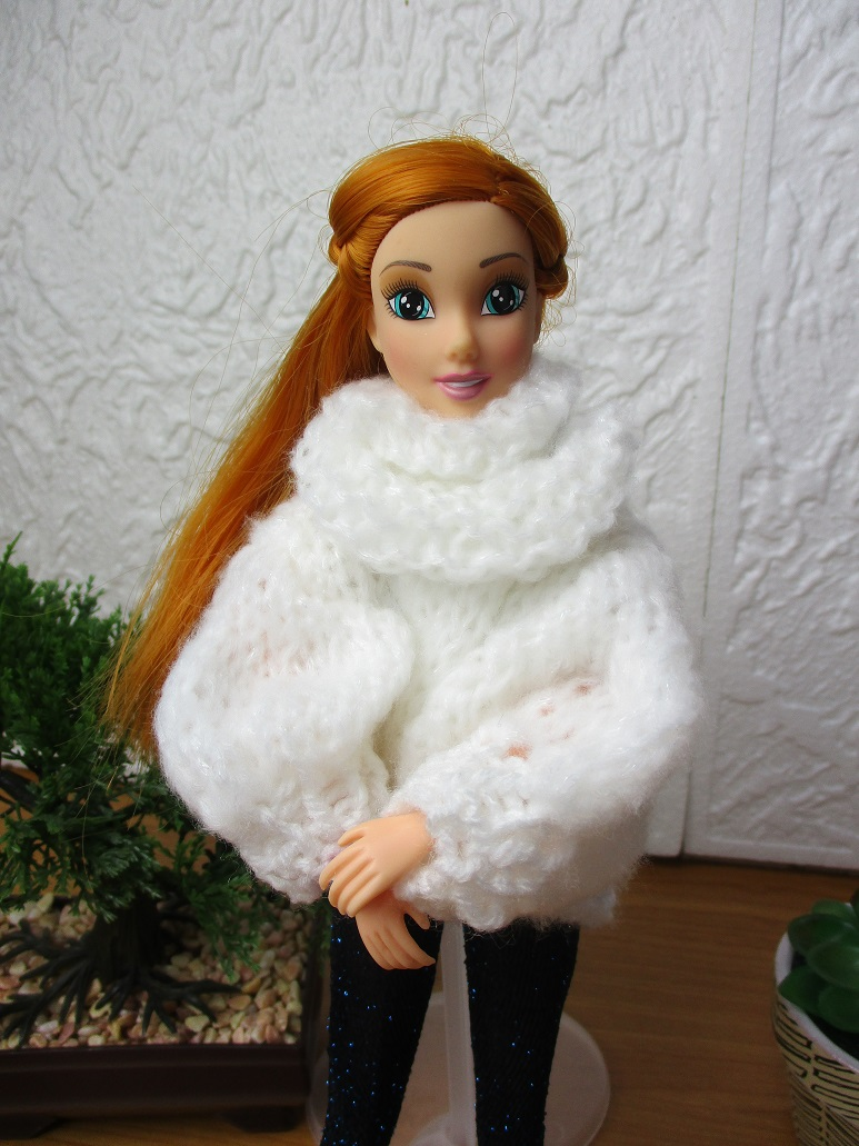 un gilet super confortable pour Lili Barbie