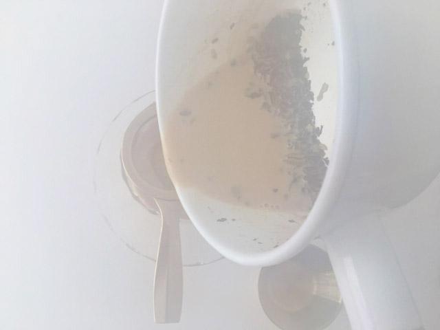 鍋の湯気で画面が曇った様子,KUSMI TEA,KASHMIR TCHAÏ,