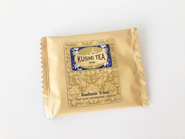 クスミティー,カシミールチャイ,個包装されたティーバッグ,KASHMIR TCHAÏ,KUSMI TEA,