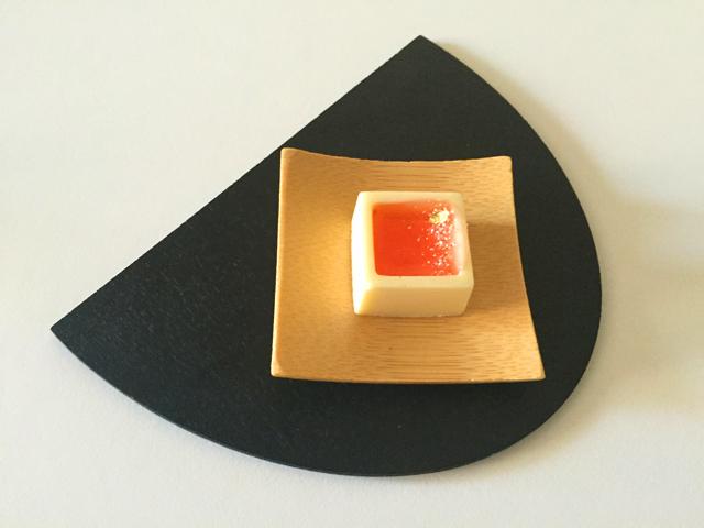 ショコラベルアメール京都別邸,瑞穂のしずく,月の桂のジュレ × ホワイトチョコ