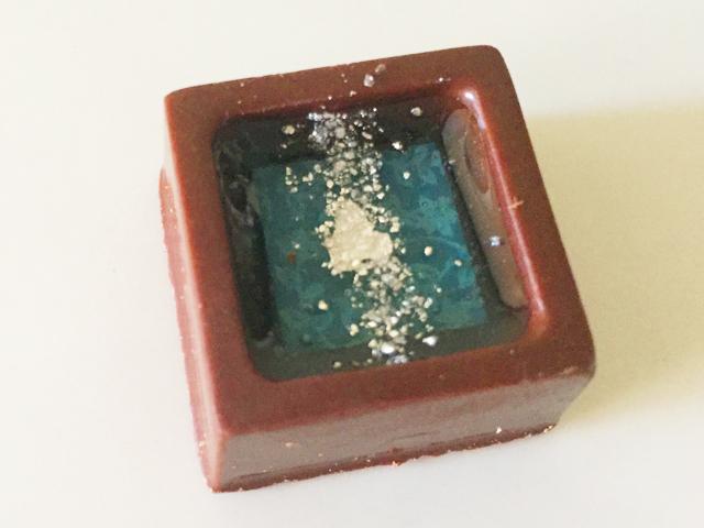 ショコラベルアメール京都別邸,瑞穂のしずく,都鶴のジュレ × ビターチョコ