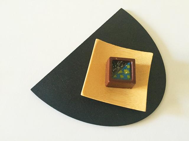 ショコラベルアメール京都別邸,瑞穂のしずく,新宮茶ジュレ × ビターチョコ