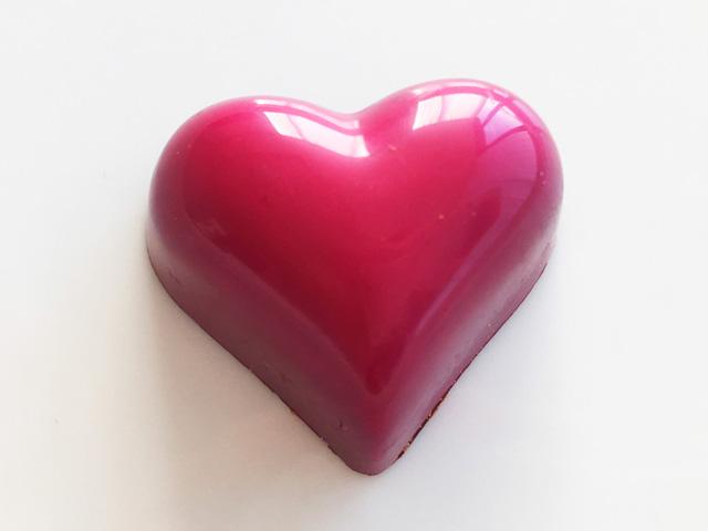 BENOIT NIHANT,オートクチュールショコラ,ピンクハート,haute couture chocolat,バレンタイン,2019