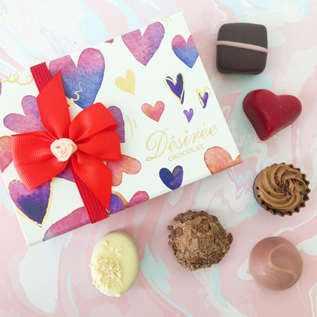 デジレー,チョコレート,トリュフ,6個入,バレンタイン,ダスカジャパン クァウテモック, Désirée,chocolate,Valentine,truffle,Bonbon de chocolat,