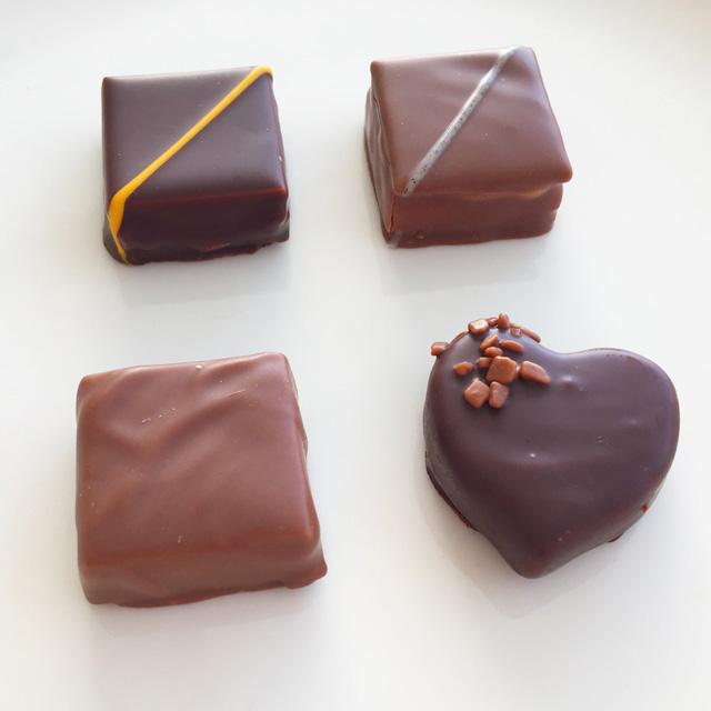 ヴェルティージュの4粒,ラ メゾン デュ ショコラ,VERTIGE,LA MAISON DU CHOCOLAT,