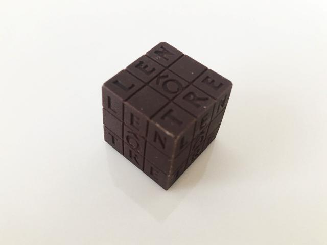 キューブパッシー,キューブ型のチョコ,ルノートル,キューブ ルノートル,バレンタイン,チョコレート, LENÔTRE,Cubes Lenôtre,CUBE LENÔTRE,Cube Passy,Valentine,