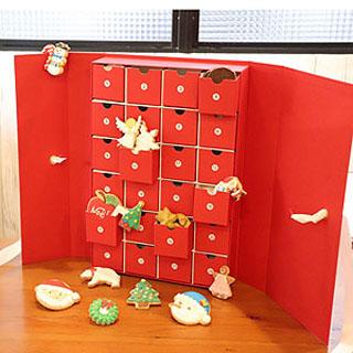 Berry DECO,ベリーデコ,アドベントカレンダーボックス,24個,税込8,640円,