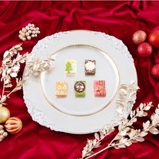 カフェオウザン,CAFE OHZAN,クリスマス キューブラスク,5個入,ジョワイユノエル,税込1620円,クリスマス,2020,