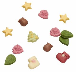 メサージュドローズ,クリスマスミニローズ,イチゴとホワイトチョコの小さなブーツと、ツリー、ミニミニスターのチョコ,MESSAGE de ROSE,クリスマス,2020,