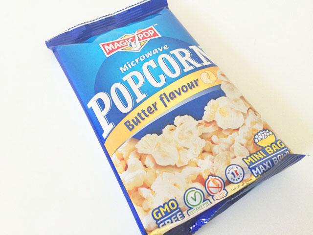 マジックポップのバター味