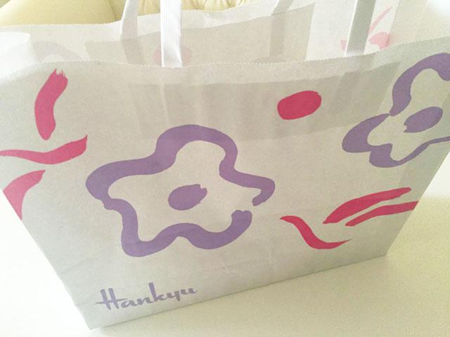 ビッグアイランド・キャンディーズ,阪急梅田の袋