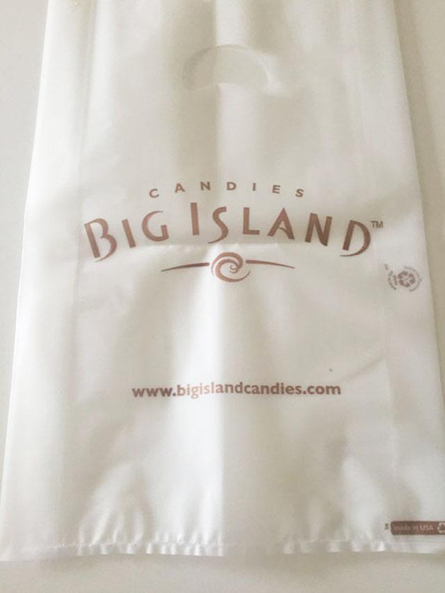 ビッグアイランド・キャンディーズ,お渡し用の袋
