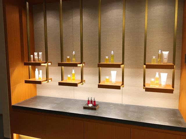 JWマリオット・ホテル奈良,SPA by JW,ケア商品が並んでいる様子,JW MARRIOTT NARA,