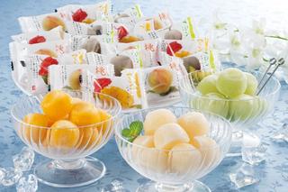 吉英フルーツ,果物屋さんのひとくちシャーベット,ひと口サイズシャーベット,お中元,夏のギフト,summer gift, アイスクリーム,ソルベ,シャーベット,ice cream,sorbet,