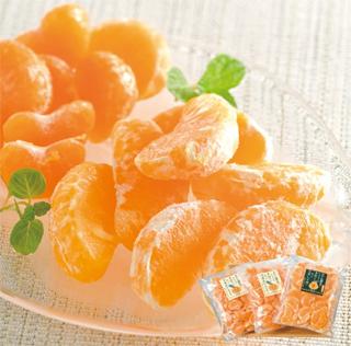 南四国ファーム,冷凍・粒楽みかん2種