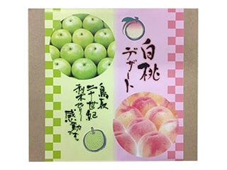 寿製菓,梨のゼリー,二十世紀梨ゼリー感動です。&白桃デザート詰合せ