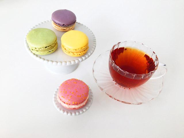 紅茶とピエール・エルメ・パリのマカロン,Pierre Hermé,母の日,2020,