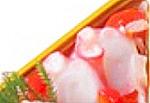 Yuu監修えがおdeだんらん おせち,三の重,たことパプリカのレモンマリネ,大丸松坂屋2021,和・洋・中華風 三段,3人用,大丸松坂屋,料理研究家ブロガーのおせち,