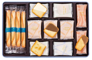 ヨックモック,サンクデリス,税込4,320円,お中元,2021,summer gift,YOKUMOKU,クッキーアソート,焼き菓子,assortment of cookies,baked sweets,
