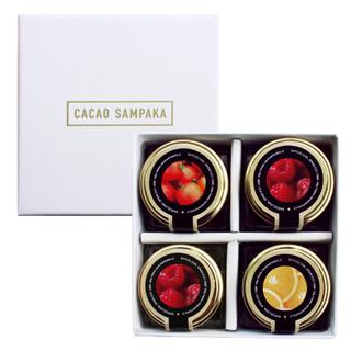 カカオ サンパカ,コンフィトゥラ 4個入,CACAO SAMPAKA