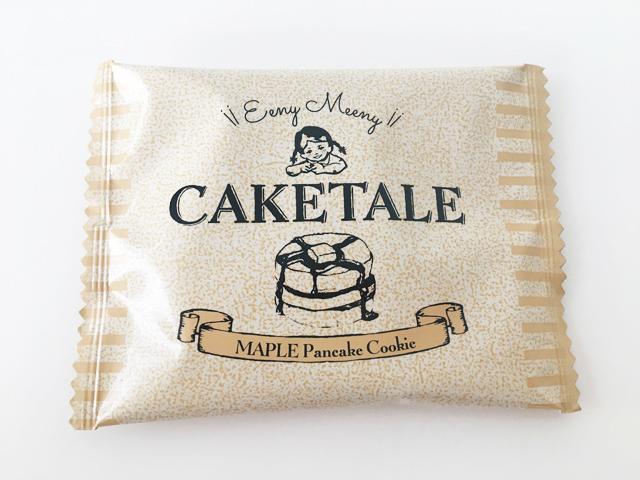 ケイクテイル,パンケーキクッキー メイプルの個包装,CAKE TALE,