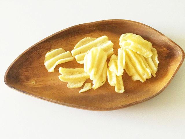 グランカルビ,ポテトビート,はちみつ&マスカルポーネ味,中身をお皿に出している状態