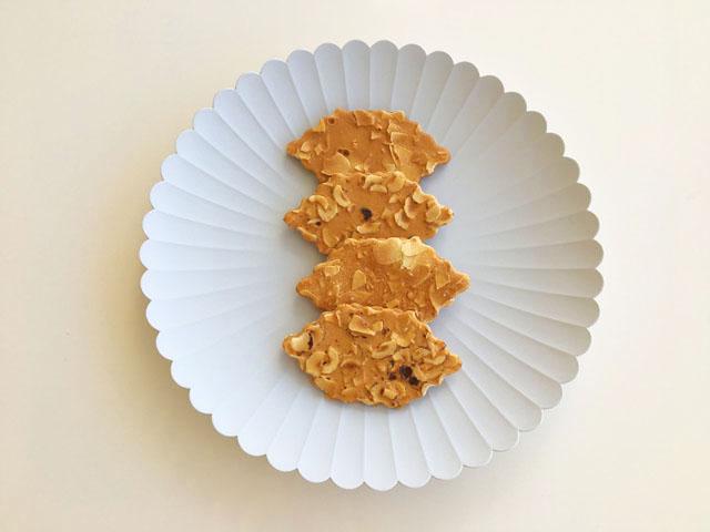 モロゾフ,ファヤージュ,TYパレスのお皿の上に4種類のファヤージュが置かれている,